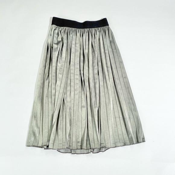 Lularoe Jill grey velvet skirt